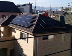 瑞穂市 H様邸 太陽光設置しました